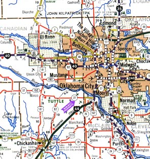 Flood Plain Map Edmond Ok